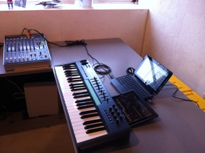 HP 210 / iPAD / Oxygen 49 Studio with Onyx 1220i