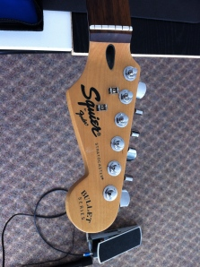 Headstock with new Machine Heads