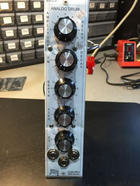 MU Version of Barton's BMC018 Analog Drum Module